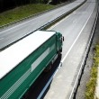 Truck on the road — Stock Photo