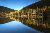 Autumn on lake. — Stock Photo