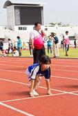 Evento del día del deporte de niños — Foto de Stock