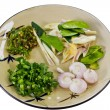 Stock Photo: Thai Food Preparation