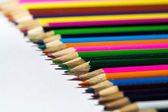 Coloured of Pencils — Stok fotoğraf
