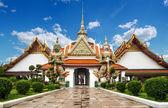 Wat arun templo tailandês — Fotografia Stock
