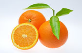 Valencia oranges — Stock Photo