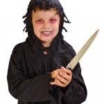 Boy in halloween III — Stock Photo