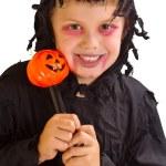 Halloween child — Stock Photo