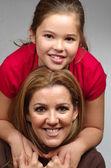 母亲和女儿 — 图库照片
