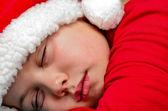 サンタの睡眠 — ストック写真