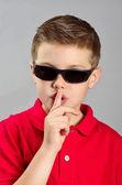 Child asking permission — Stock Photo