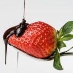 Strawberry with chocolate 5 — Stock Photo