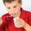 The child of yogurt 17 — Stock Photo #23931237