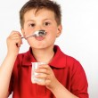 The child of yogurt 12 — Stock Photo #23931251