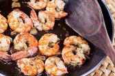 Shrimp stew — Stock Photo