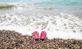 Beach shoes 3 — Stock Photo