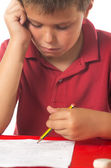 Child studying 4 — Stock Photo