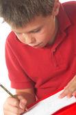 Child studying 9 — Stok fotoğraf