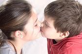 Innocent kiss 2 — Stock Photo