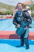 Scuba diver — Stockfoto