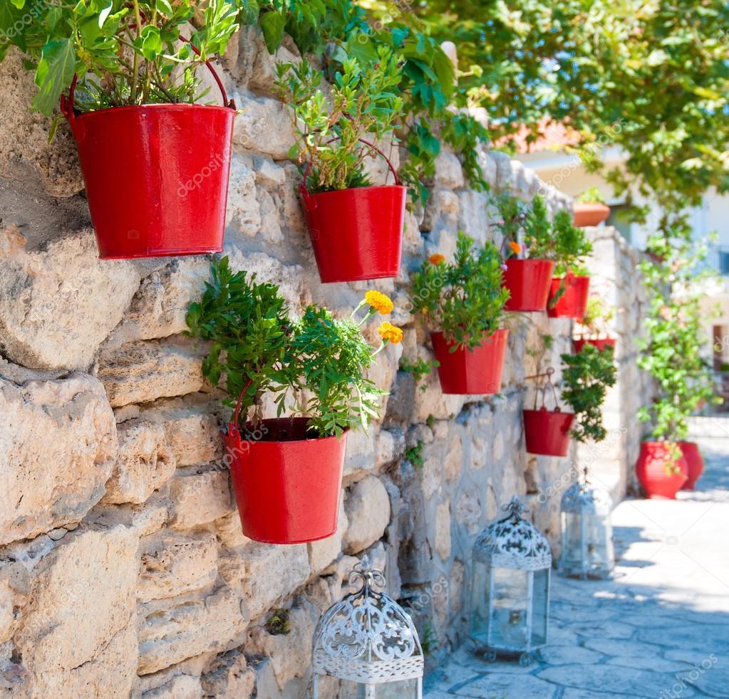 pots de fleurs photographie diverroy 30639301. Black Bedroom Furniture Sets. Home Design Ideas