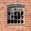 Broken window — Stock Photo #39105107