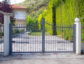 Metal Gate — Stock Photo