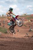 Jumping high — Stock Photo