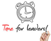 Time for Leaders — Foto Stock