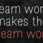 Team work concept — Stock Photo