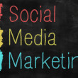 Social media marketing concept — Stock Photo #31614005