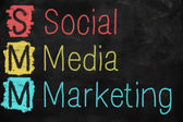 Social media marketing concept — Photo