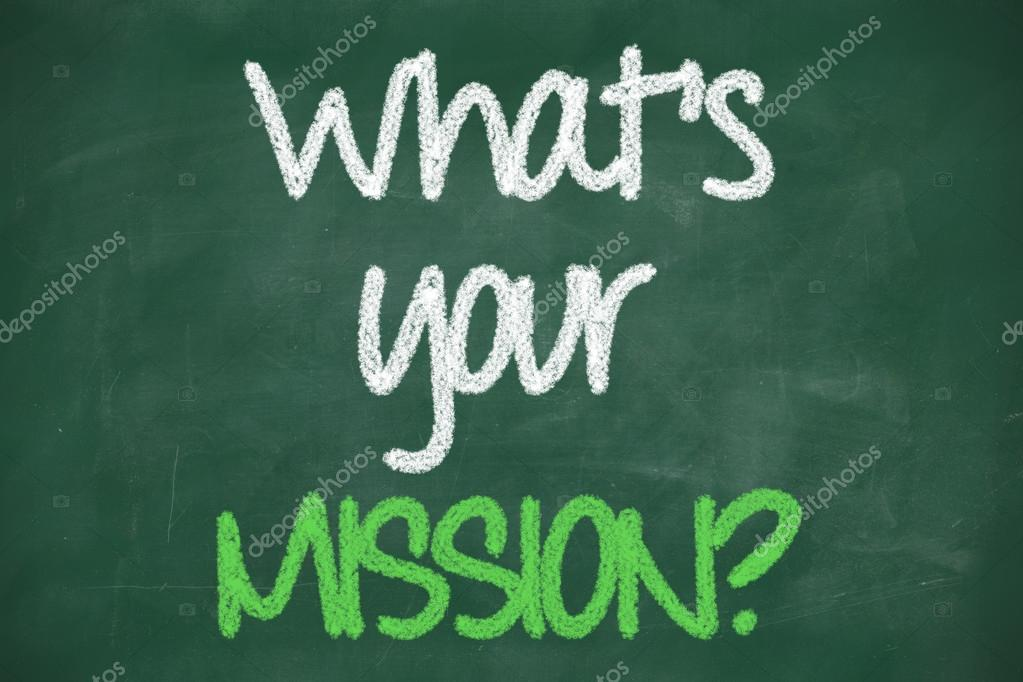 Whats your mission question — Stock Photo © ibreakstock ...