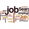 Job search seeking employment concept background — Stock Photo