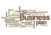 Business plan concept background — Stock Photo