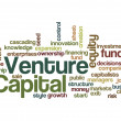 Foto Stock: Venture capital funding investor concept background