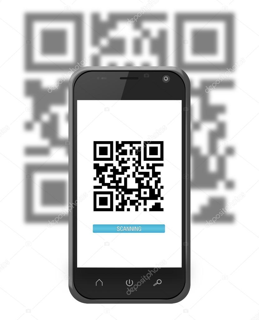 smartphone qr code scannen