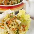 Stir Fried Mixed Vegetable Wraps - Stock Photo
