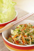 Stir Fried Mixed vegetables — Stock Photo