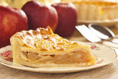 Cold Apple Pie — Stock Photo