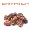Dried Pitted Arabian Dates — Stock Photo