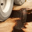 Oil Leak — Stock Photo