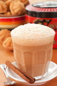Chai Masala - Teh Tarik — Stock Photo