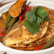 Fish Head Claypot Curry — Stock Photo #13882013