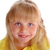 Cheerful girl blonde — Stock Photo