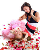 Together cheerfully — Stock Photo