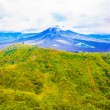 Stock Photo: Top of active volcano