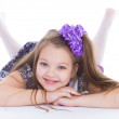 Smile of the beautiful 6-years old girl — Stock Photo #43687903