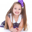 Smile of the beautiful 6-years old girl — Stock Photo #43687961
