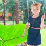 Charming little girl — Stock Photo #47998427