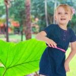 Charming little girl — Stock Photo #47998431