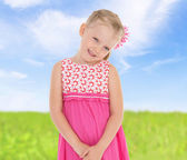 Small beautiful girl — Stock Photo