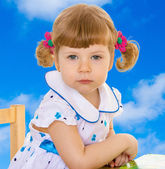 Pretty little girl — Stock Photo